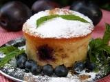 Ovocné muffinky s ořechy recept