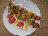 Grilované špízy s tzatziky / dietni recept