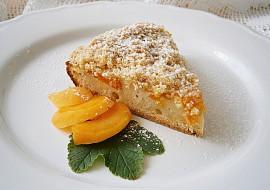 Koláč s meruňkami a křupavou drobenkou recept