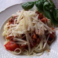 Špagety se sušenými rajčaty recept