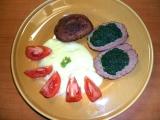 Karbanátky plněné špenátem recept