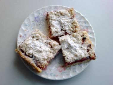 Švestkový koláč od babičky