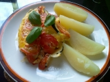 Zapečený lilek se sýrem, rajčaty a provensálským kořením recept ...