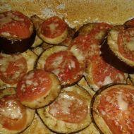 Lilek zapečený s rajčaty recept