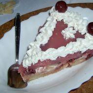 Višňový nepečený dort recept
