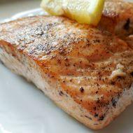 Lososový steak s pepřem recept