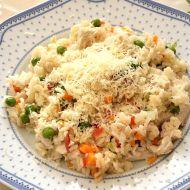 Zeleninové rizoto s kuřecím masem po česku recept