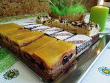 Kakaové pudingové řezy s želé recept