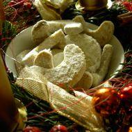 Ořechové rohlíčky s vůní vanilky recept