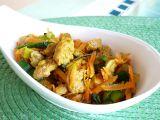 Sojové nudličky se zeleninou recept