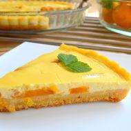 Výborný meruňkový koláč s tvarohem recept