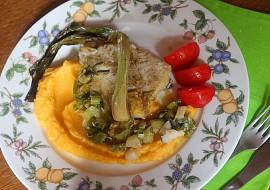 Treska na jarních cibulkách recept
