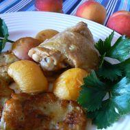 Kuře na broskvích recept