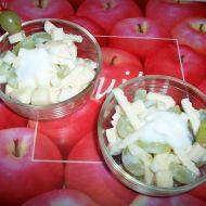 Salát s majonézou a ovocem recept