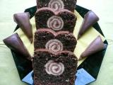 Roládo-čoko-ořechový koláč recept