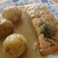 Vynikající losos s omáčkou recept