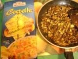 Nudle s houbami recept