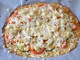 Zdravá květáková pizza bez mouky recept