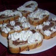 Roláda s kakaovou náplní recept