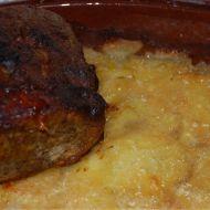 Hovězí žebra s brambory dauphinois recept