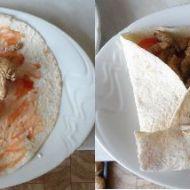 Kuřecí tortilla se zeleninou recept
