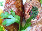 Válečky z mletého masa plněné mangoldem recept