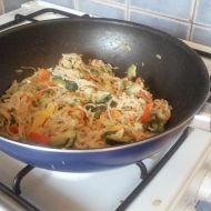 Cuketové špagety recept