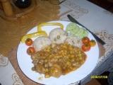 Kuřecí maso s mexickou zeleninovou směsí recept