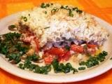 Rajčata zapečená s rýži, masem a paprikou recept