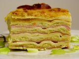 Brokolicové lasagne recept