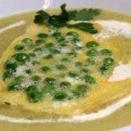 Vánoční krémová rybí polévka s hráškem recept