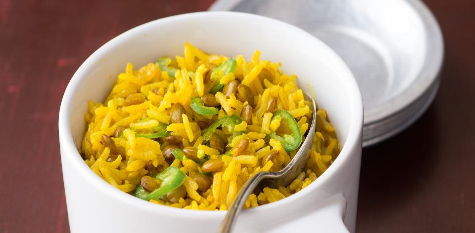 Indická rýže basmati s čočkou