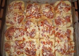 Toustová pizza  rychlá večeře recept