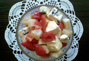 Sýrový mix  salát