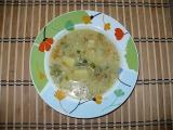 Zeleninová polévka s vločkami recept