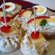 Jemná pomazánka z uzené makrely recept