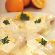 Kuřecí řízky s pomerančovou omáčkou recept