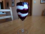 Tvarohový pohár s lesním ovocem recept
