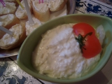 Česnekovo sýrová pomazánka1 recept