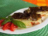 Tykev zapečená s mangoldem a rajčaty recept
