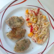 Vepřová pečeně s rozmarýnem a kuskusem recept