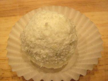Kokosové dortové koule