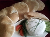 Arabský pita chléb recept