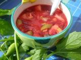 Polévka z červené řepy s ačokčou recept