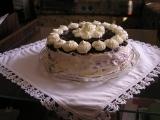 Ostružinový dort recept