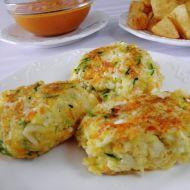 Smažené zeleninovo-sýrové placičky recept