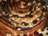 Srolovaný kynutý makový koláč recept