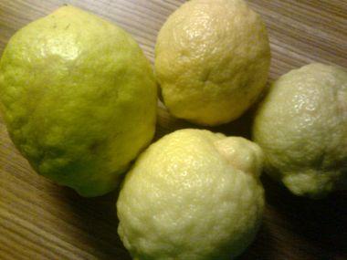 Domácí citrónová šťáva