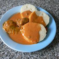 Plněné papriky v rajské omáčce recept