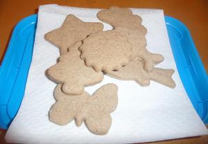 Vánoční cukroví  Skořicové a kořeněné čtverečky
